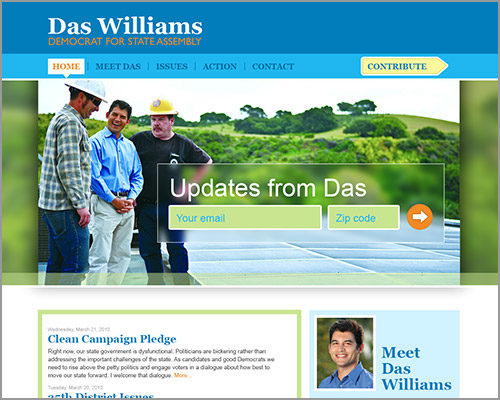 Das Williams - Web Design