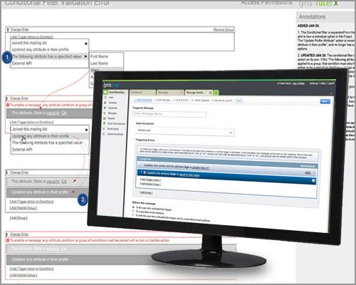 LHQ Triggers - Enterprise Saas UX Design