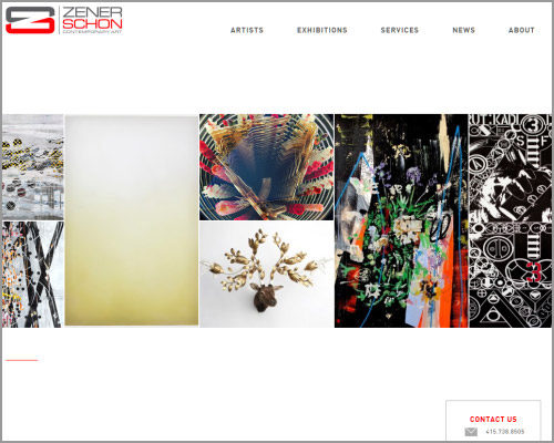 Zener-Schon - Web Design
