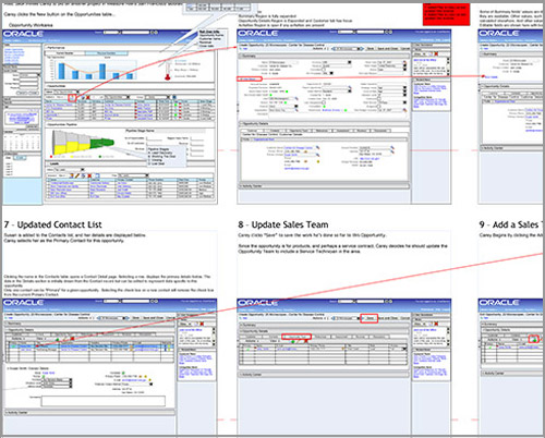 Oracle CRM - Application Design
